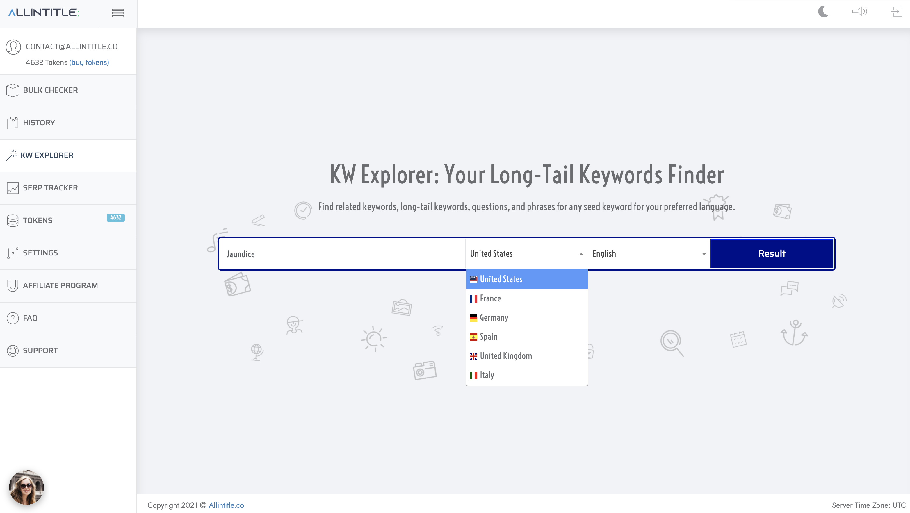 keyword suggestion tool